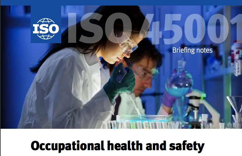 A NOVA ISO 45001 - Saúde e segurança no trabalho